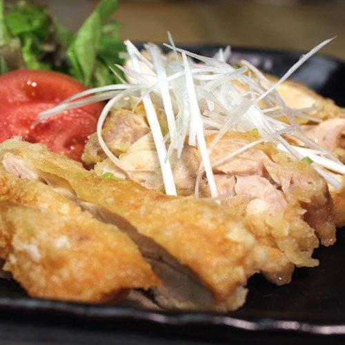 水郷のとりやさん 国産 鶏肉 水郷どり もも肉 唐揚げとネギソース 衣付き 油淋鶏 調理済 加工品