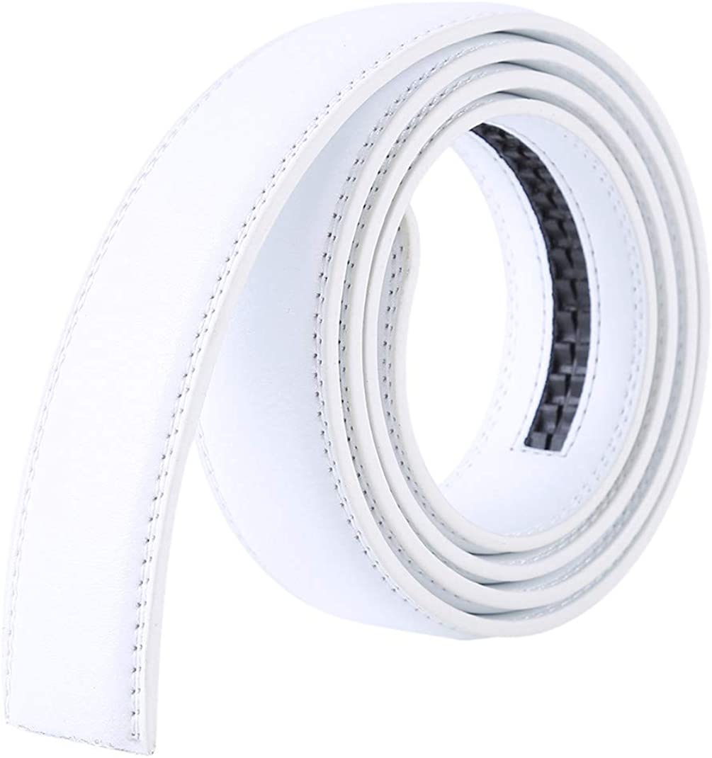 Airlove Men Excellent Ratchet Brand new Buckle or Belt Replacemen Only Leather Strap