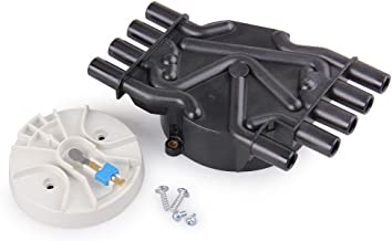 V8 Distributor Cap and Rotor kit for Mercruiser and Volvo Penta 5.0, 5.7, 6.2 Engines, 350 MAG MPI 5.0 5.7 GXI GI
