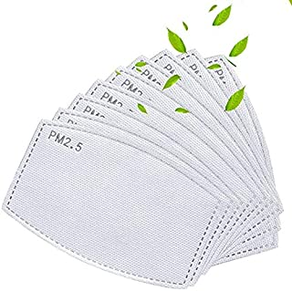 30 Pack Activated Carbon Filter Insert 5 Layers,Effective Non-Woven Fabrics Cotton Filter