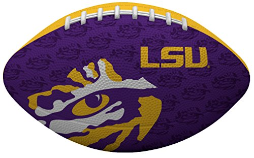 Rawlings NCAA Gridiron Junior Size Football, Louisiana State Tigers