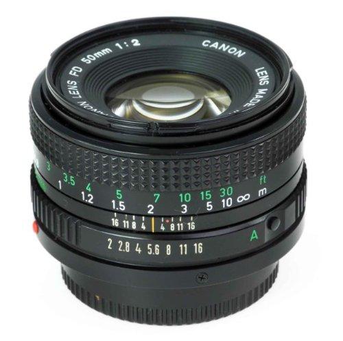 Canon FD 50mm F2 F/2 F2.0 F/2.0