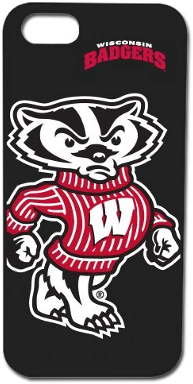 Wisconsin Badgers  Case for iPhone 5   5s  Black by Guard Dog