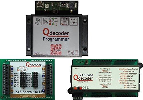 Qdecoder - Trafos & Dekoder für Modelleisenbahnen