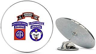 Veteran Pins US Army O Company (Artic Ranger), 75th Infantry (Airborne), U.S. Army, Alaska Metal 0.75