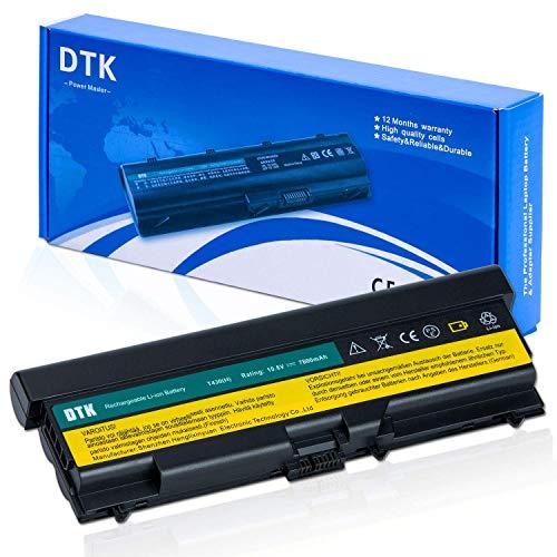 DTK Laptop Battery for Lenovo IBM Thinkpad OA36303 0A36303 70++ W530 W530i L430 L530 T430 T430i T530 T530i Notebook (Extended 9 Cells 7800mah)