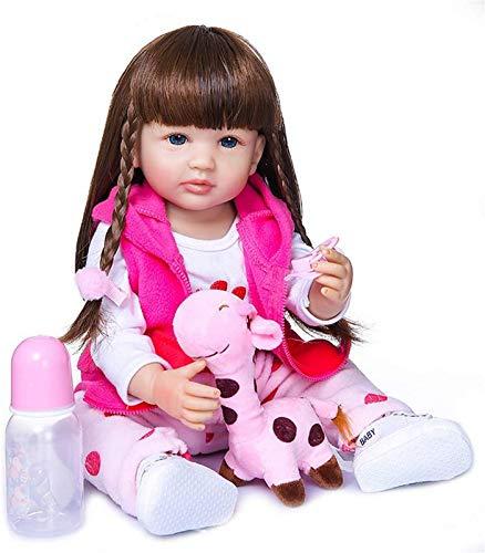 GAOFQ Muñeca Reborn, 22 Pulgadas, 55 cm, muñecas realistas