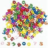 Números 100 Piezas De Madera De Colores, Arte Arte De Madera De La Casa DIY del Arte De Costura Scrapbooking Decoración De Aprendizaje De Los Niños, 15mm