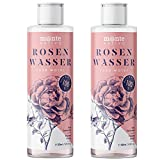 MonteNativo Agua de Rosas Natural 2x200ml – Hidrolato de Rosas 100% Puro Doble Destilado por Vapor...