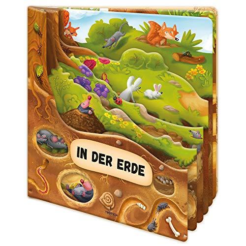 Trötsch Fensterbuch In der Erde: Entdeckerbuch Beschäftigungsbuch Spielbuch (Erstes Wissen)