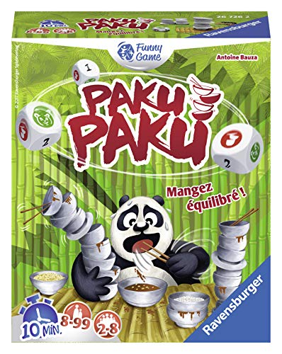 Ravensburger-Ravensburger-26726-Paku Paku, 26726, Multicolor