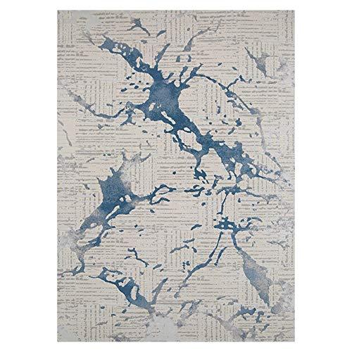 Tapis Nordic Style Tapis Salon Canapé Table Basse Blanket Luxe Accueil Boutique complète pour Le Salon (Color : Multi-colored4, Taille : 300x400cm)