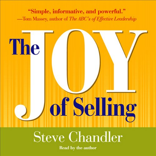 The Joy of Selling audiobook cover art