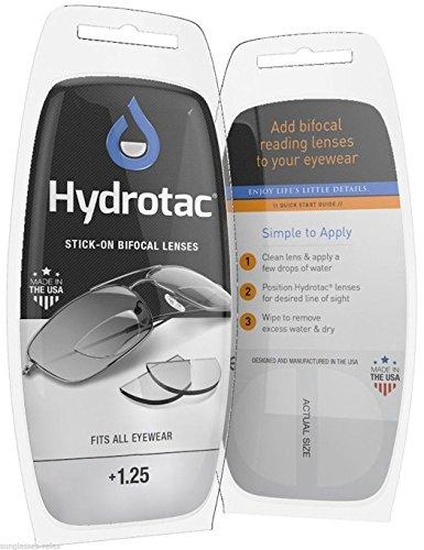 Hydrotac Lentes para presbiopía/lentes adicionales extraíbles/lentes para gafas de sol Ciclismo Máscara subacuática Pesca (+1.25)