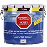 Produit d'étanchéité terrasse balcon Peinture décorative résine revêtement protection circulable extérieur ARCATERRASSE - Gris - 2.5 L - ARCANE INDUSTRIES