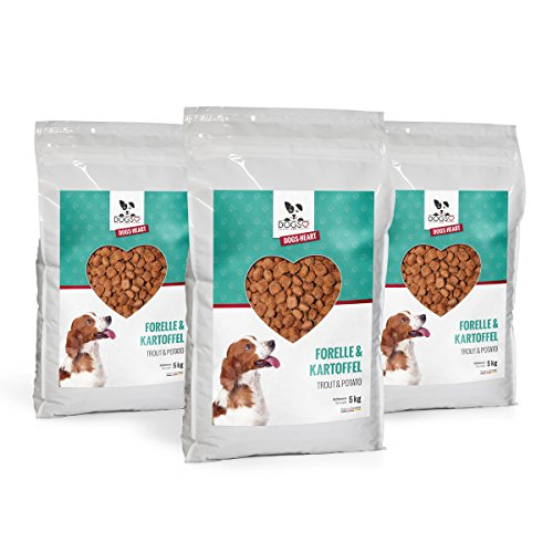 DOGS-Heart Forelle&Kartoffel -...