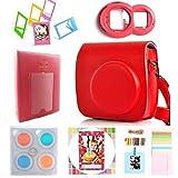 Instax Mini 8Instant film Caméra 7-en-1[Starter Pack] Accessoires Bundles pour...