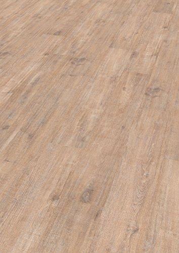 EGGER Home Laminat hell braun Holzoptik - Woodwork Eiche  EHL029 (7mm, 2,481 m²) Klick Laminatboden | Bodenbelag