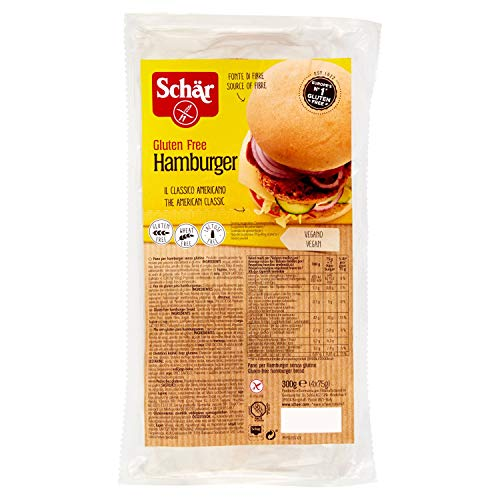 Dr. Schar Pan de hamburguesa SIN GLUTEN - 300 gr