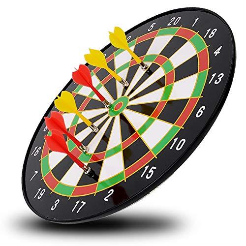 Duyer Magnetische dartpijlenset, voor vrije tijd, magnetische dartpijlen, oefening voor volwassenen en kinderen, 6 dartpijlen