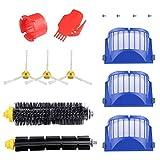 ASUNCELL Accesorios para iRobot Roomba 600 620 630 650 660 Kit de piezas de reposición de aspiradora