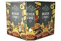 バインダー 2 Ring Binder Lever Arch Folder A4 printed mexican food