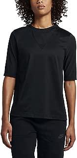 Sportswear Bonded Women's Half Sleeve Top Black 829755 010