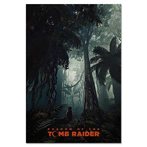 Tomb Raider: Shadow of The Tomb Raider Official Art Poster - in Game Art Prints (24x36)