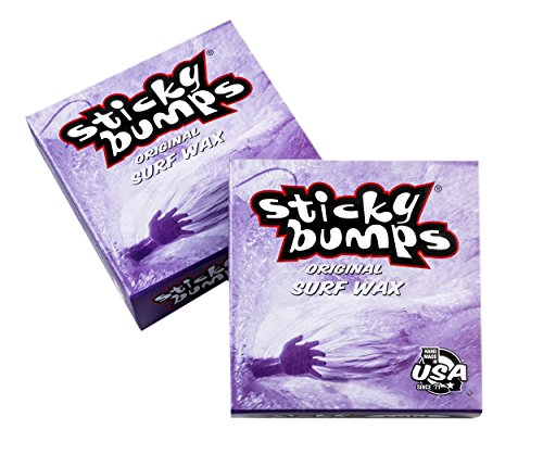 Sticky Bumps Cold Surf Wax , White