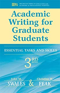 Best academic writing for graduate students essential tasks and skills Reviews
