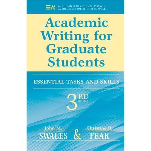 commentary for academic writing for graduate students : essential tasks and skills pdf