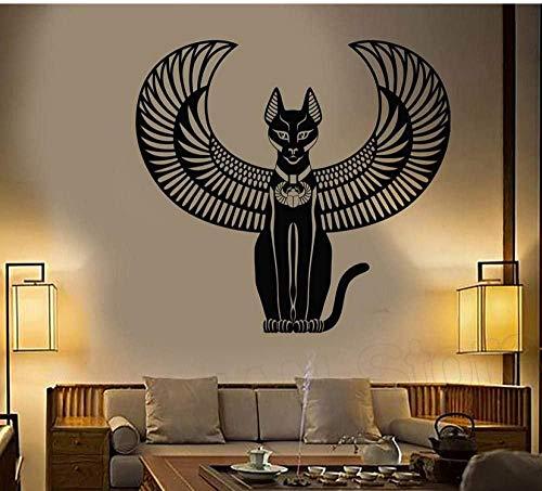Adhesivo de pared Bastet vinilo adhesivo de pared calcomanía decoración de...
