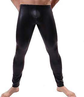 a20c23eb3a056 Amazon.fr : Pantalon Cuir Homme - Jeans / Homme : Vêtements