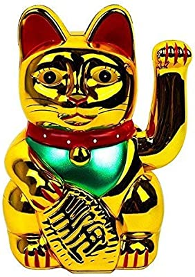 Amazon.com: Monkey King Gold Feng Shui Lucky Gatos Lucky ...