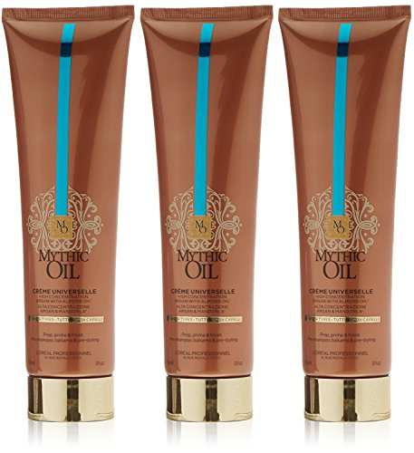 Loreal 3 er Pack Loreal Mythic Oil Cream Universelle 150ml