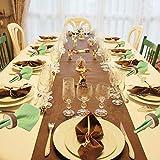24 Stücke Serviettenringe Holz Holz Serviette Ring als ideale Eierhalter Eierbeche DIY Basteln Kits Hochzeit Pary Tisch Ornament für Hotel Hochzeit Geburtstag Weihnachten Party Tisch Dekoration - 4