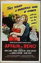 Affair In Reno (1957) Original One Sheet Poster (27x41) JOHN LUND DORIS SINGLETON Directed by R.G. SPRINGSTEEN