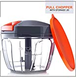 Artikel Manual Chopper with Storage Lid | Pull Food Processor | Chops Vegetables