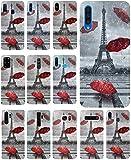 KX-Mobile Hülle für iPhone 6 / 6s Handyhülle Motiv 1107 Eifelturm Paris Frankreich Premium Silikonhülle SchutzHülle Softcase HandyCover Handyhülle für iPhone 6 / 6s Hülle