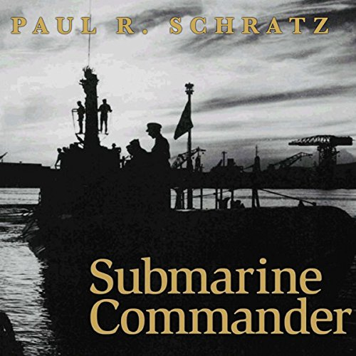 Submarine Commander audiobook cover art