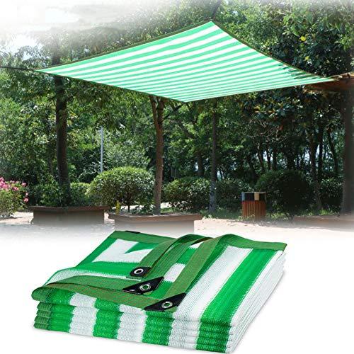 Herxy Schattennetz Schatten Stoff Sonnensegel mit Ösen, Anti-UV/durchlässig, für Balkon gewächshaus Camping Garten,2×3m/2×4m/3×3m/3×4m/3×5m/4×4m/4×5m/5×5m