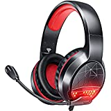 BENGOO G9900 Gaming Headset Headphones for PS4 PS5 Xbox One PC Controller, Noise Isolating Over Ear...