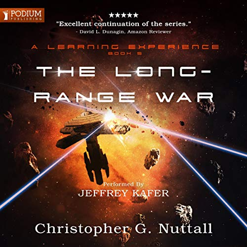 The Long-Range War audiobook cover art