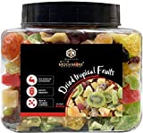 Muchmore Nutrition Mix Dried Tropical Fruits|Sun Dried Fruits|No Sugar Added|350gm