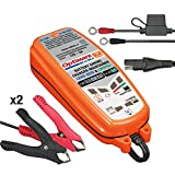 Tecmate Optimate DC-DC, TM-500, 6-Step 12V/12.8V 2A Sealed DC to DC Battery Saving Charger & maintainer