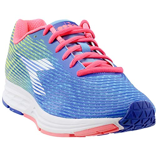 Diadora Womens Action +3 Running Sneakers Shoes - Blue - Size 10.5 B