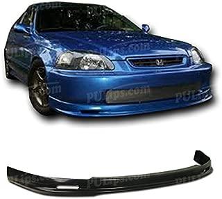 PULIps HDCV960MUFAD - M-Spec Style Front Bumper Lip For Honda Civic 1996-1998
