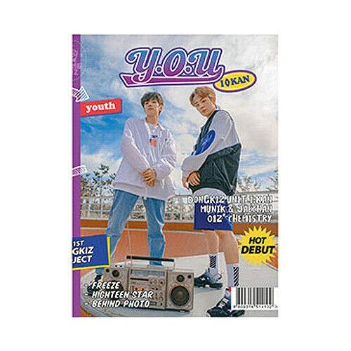 DONGKIZ I:KAN Y.O.U 1st Single Album YOUTH VER CD+Fotobuch+Karte+Sticker+F.Poster+TRACKING CODE K-POP SEALED