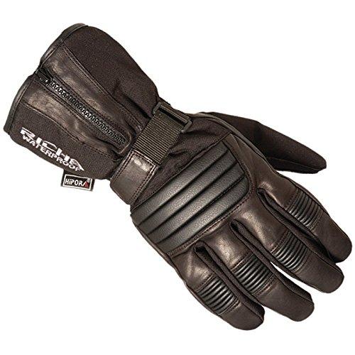 Richa 9904–Guantes para la Moto, L, Color Negro