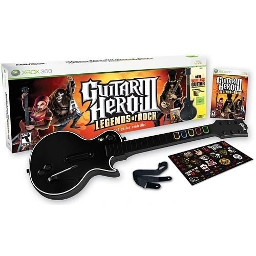 Guitar Hero 3 - Legends of Rock Bundle (Xbox 360)